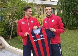 Sport - Flaminia Calcio Civita Castellana - Nicola Vecchio e Filippo Di Maira