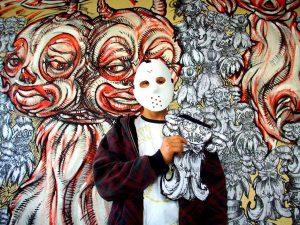 Lo street artist Alessandro Caligaris