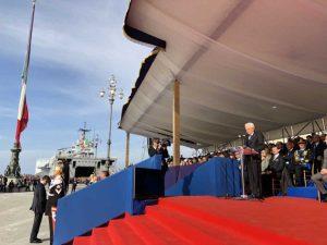 Trieste - Il presidente Mattarella