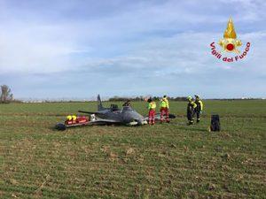 Caorle - L'aereo caduto