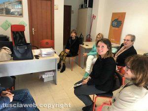 Viterbo - Le volontarie dello Sportello Donna