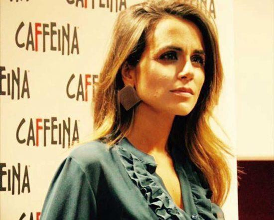 La direttrice del teatro Caffeina Annalisa Canfora