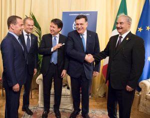 Palermo - Il vertice internazionale sulla Libia