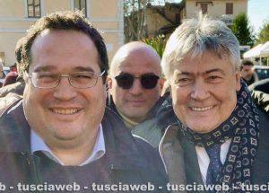 L'incontro della Lega a Bolsena - Claudio Durigon e Umberto Fusco