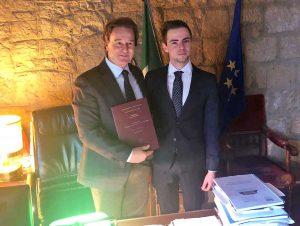 Francesco Bigiotti e Matteo Angeloni