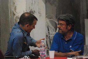 Antonio Riccio con Antonello Ricci