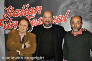 Italian Film Fest Berlin - Antonio Albanese con Enrico Magrelli e Mauro Morucci