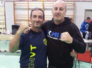 Sport - Krav maga Tuscia - Carlo Mancini e Armando Carriles