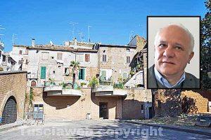Corchiano - Nel riquadro: Bengasi Battisti