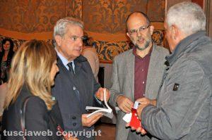 Viterbo - Giovanni Fiorentino (al centro)