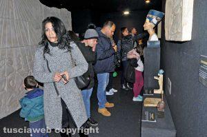 Viterbo - La mostra di Tutankhamon a piazza Fontana grande