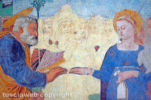 Lo sposalizio della Vergine di Lorenzo da Viterbo