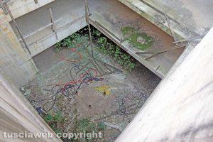 Viterbo - Il vuoto sotto la trave