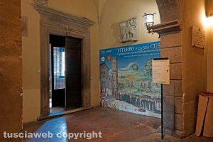 Viterbo - L'ingresso in sala regia
