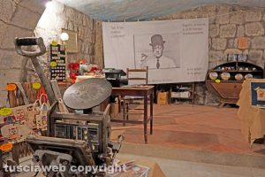 Viterbo - La cantina dei Petroselli dedicata a Totò