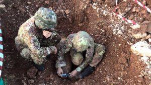 Esercito - Disinnescata bomba a Terni - I rilievi iniziali