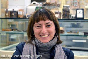 Francesca Castignani, pasticciera e titolare della Bella Helene