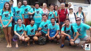 Il gruppo del 2017 del Centro studi squali