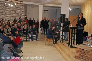 La deputata Laura Boldrini a Vetralla
