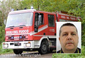 Santi Cheli, il vigile del fuoco trovato morto in casa