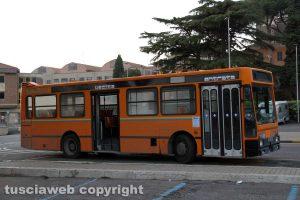 Viterbo - Un bus della Francigena