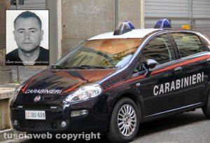 Carabinieri - Nel riquadro: Ismail Rebeshi