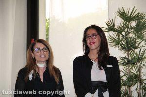 Tiziana Governatori, generale manager di Terme Salus e la direttrice dell'hotel