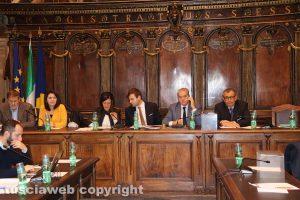 Viterbo - Consiglio comunale - La maggioranza