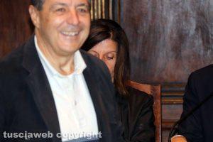 Viterbo - Consiglio comunale - Giulio Marini arriva all'ultimo secondo