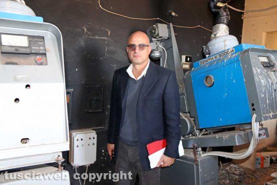 Viterbo - Cinema Teatro Genio - Il sopralluogo con Stefano Caporossi e la quarta commissione