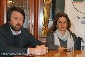 Marco De Carolis e Laura Allegrini