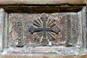 Vignanello - Uno dei mattoni donati da papa Orsini
