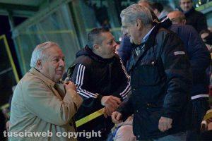 Sport - Calcio - Viterbese - Piero Camilli e il sindaco Giovanni Arena