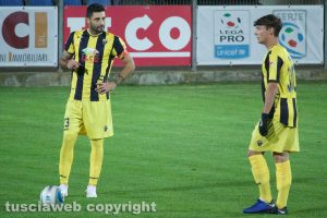Sport - Calcio - Viterbese - Simone Sini e Samuele Damiani