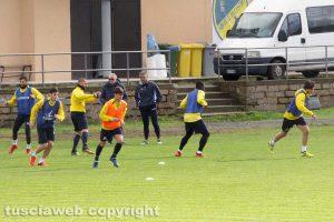 Sport - Calcio - Viterbese - L'allenamento di stamani diretto da Lopez