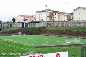Sport - Calcio - Il campo in sintetico a Grotte di Castro