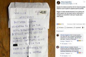 Torino - Minacce di morte alla sindaca Appendino