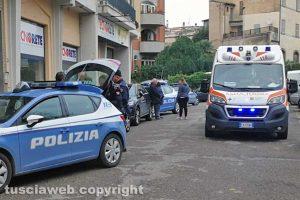 Viterbo - Tentato furto sulla Cassia Sud - L'intervento di polizia e 118