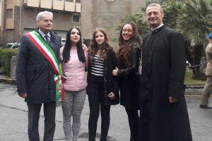 Viterbo - Le studentesse dell'istituto Midossi