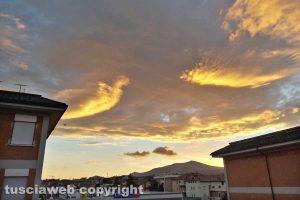 Viterbo - Un'alba dorata