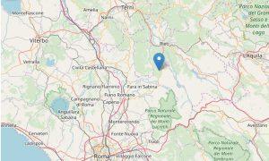 Scossa di terremoto di magnitudo 3,4 nel Reatino