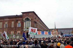 Torino - La manifestazione Sì Tav