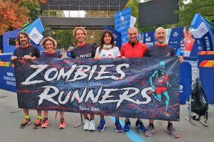 Sport - Atletica leggera - I viterbesi dell'Asd Zombies runners alla maratona di New York