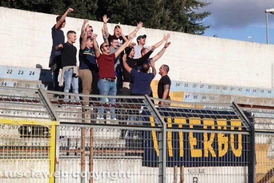 Sport - Calcio - Viterbese - Il tifosi a Matera