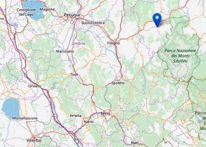 Scossa di terremoto in provincia di Macerata