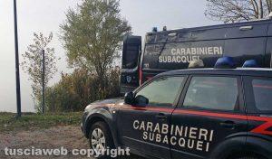 Montefiascone - Le ricerche dei carabinieri
