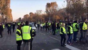 Parigi - Rivolta dei Gilet gialli