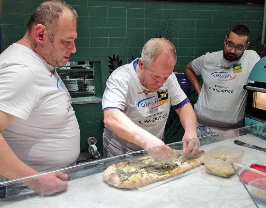 Danilo Lucarini e Ciccio Rossi al trofeo Il Magnifico
