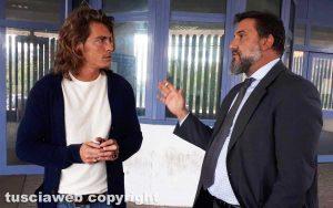 Tribunale - Alberto Mezzetti con l'avvocato Antonio Rizzello