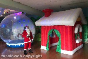 Viterbo - Babbo Natale al Todis
